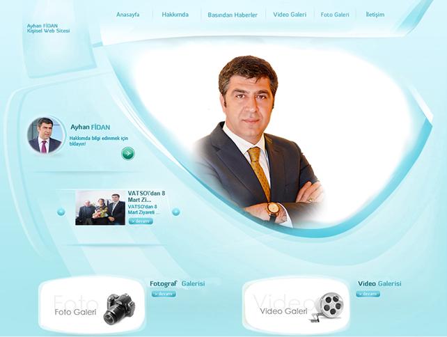 Aynan fidan iş adamı kişisel web sitesi